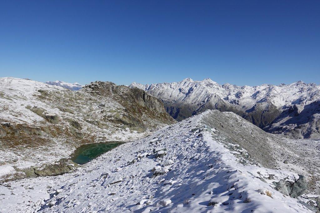 Cabane Brunet, tour des lacs (03.10.2019)